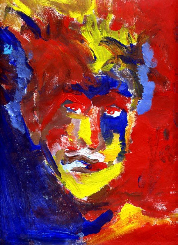 Autoportrait fauve072